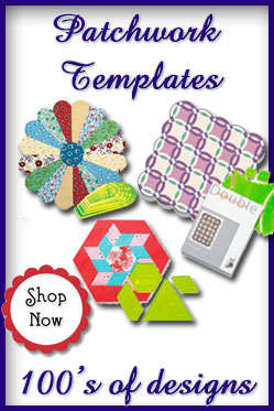 Purchase Acrylic Patchwork Templates