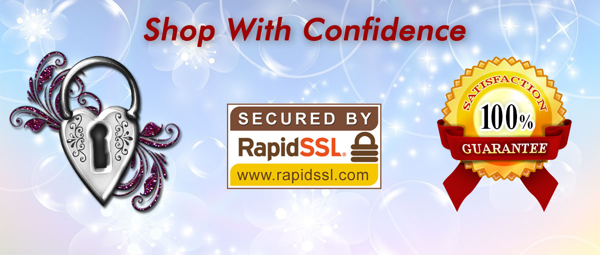 100% Satisfaction Guarantee Shop with Confidence