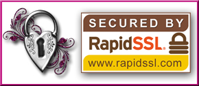 Shop With Confidence Secured by Rapid SSL