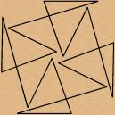 Wonderful Geometrical Design by Full Line Stencils