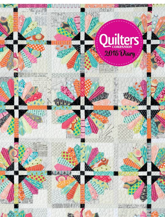Quilters Companion 2018 Diary