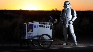 Craft and Quilt Fair Perth via the Nullarbor ~ Storm Trooper