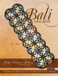 Jelly Roll aka Bali Pop and Rainbow Patterns- Bali Bed Runner Judy Niemeyer