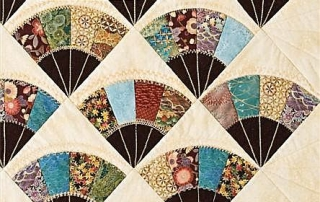 Grandma's Fan Quilt Smarter with Quiltsmart