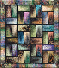 Jelly Roll aka Bali Pop and Rainbow Patterns- Stepping Stones Judy Niemeyer