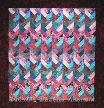 Jelly Roll aka Bali Pop and Rainbow Patterns- Braid Buddies Designs