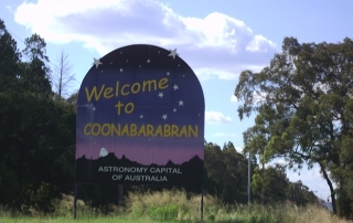Welcome to Coonabarabran Sign