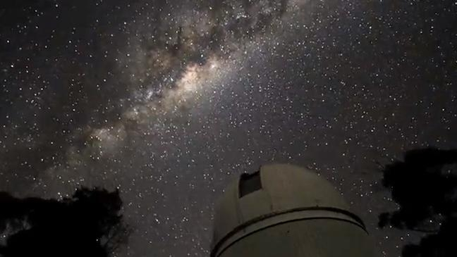 Stars above the Sliding Spring Observatory