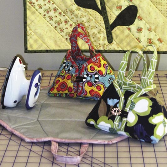 Travel Iron Tote Pattern If purchased with a Birch Mini Steam Iron total Donation to Challenge $4.00