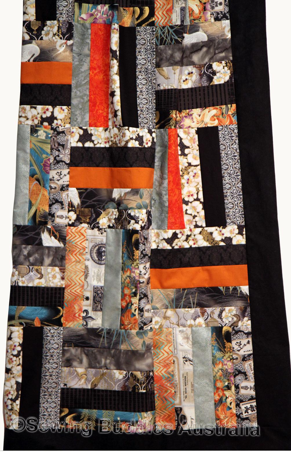 Buddies Strip Quilt Pattern