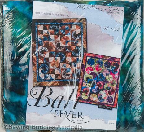 Bali Fever Quilt KIT by Judy Niemeyer