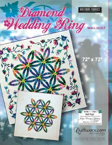 Diamond Wedding Ring Quilt Pattern by Judy Niemeyer
