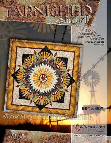 Tarnished Windmill Quilt Pattern by Judy Niemeyer