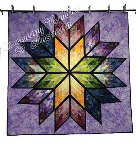 Prismatic Star Quilt KIT by Judy Niemeyer