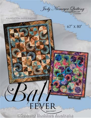 Bali Fever Quilt Pattern by Judy Niemeyer