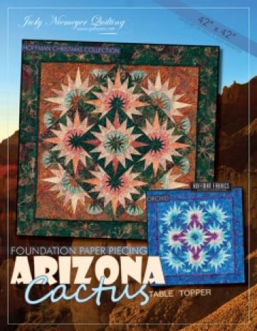 Arizona Cactus Pattern Table Topper