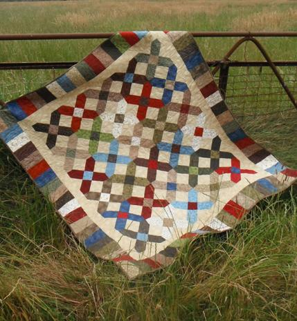 Cross Point Quilt Pattern Incl. Templates by Zoe Clifton