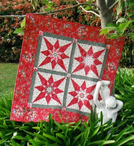 Binary Star Quilt Pattern Incl. Templates by Zoe Clifton