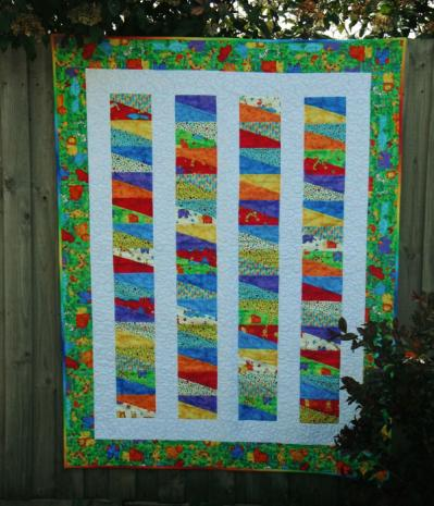 Slip Slidin' Away Quilt Pattern Incl. Templates by Zoe Clifton