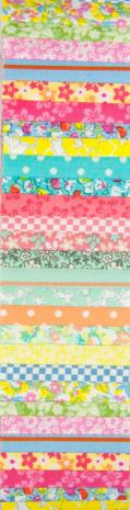 Flower Pastels Rainbow aka Jelly Roll or Bali Pop