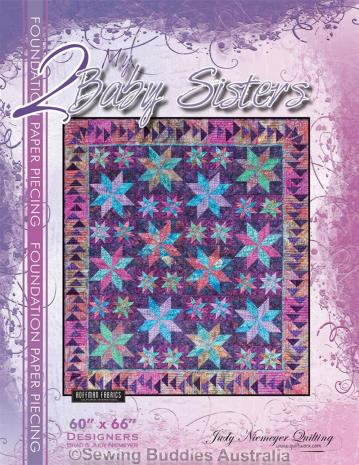 My Two Baby Sisters Quilt Pattern by Judy Niemeyer