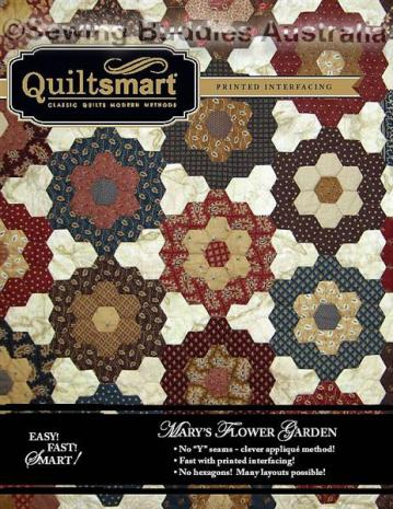 Mary's Flower Garden Twin Pack by Quiltsmart