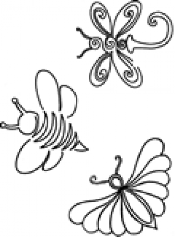 Garden Friends #30474 by Full Line Stencils