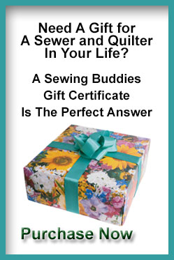Purchase a Sewing Buddies Australia Gift Certificate