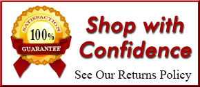 Shop With Confidence 100% Satisfaction Guarantee