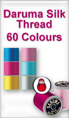 Daruma Silk Thread at Sewing Buddies Australia