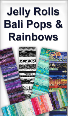Jelly Rolls, Bali Pops and Rainbows at Sewing Buddies Australia