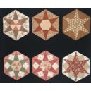 Hexagon Template Set 1 by Zoe Clifton