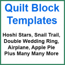Quilt Block Template Sets - Sewing Buddies Australia