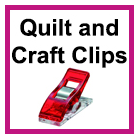 Quilt and Craft Clips