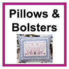 Pillows and Bolsters