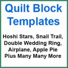 Quilt Block Template Sets - Sewing Buddies Australia