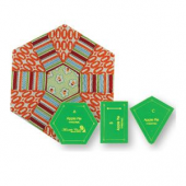 Apple Pie Patchwork Template Set - Playing with Hexagons Sewing Buddies Australia