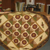 Country House Garden Quilt - by Zoe Clifton Sewing Buddies Australia