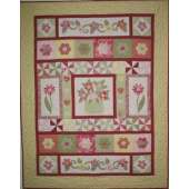 Dancing Daisies Quilt - by Zoe Clifton Sewing Buddies Australia