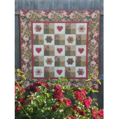 Love Is A Rose Quilt - by Zoe Clifton Sewing Buddies Australia