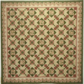 Poinsettia on Parade Quilt - by Zoe Clifton Sewing Buddies Australia