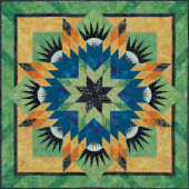 Summer Solstice Quilt Pattern by Judy Niemeyer Sewing Buddies Australia