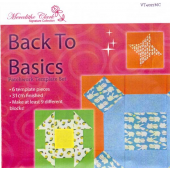 Back To Basics 3g Patchwork Template Set - Matilda's Own - Sewing Buddies Australia