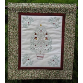 Christmas Stitchery Wall Hanging by Zoe Clifton Sewing Buddies Australia