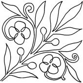 Spring Bloom #30408 by Full Line Stencils