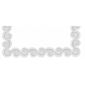 Fancy Feather Border #30472