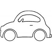 Car #30486 by Full Line Stencils