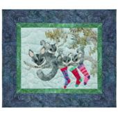 Playin Possum Pattern 5 Chrissy Down Under by McKenna Ryan
