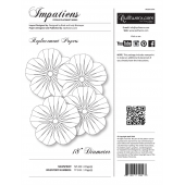 Impatiens Extra Foundation Papers by Judy Niemeyer