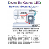 How to Measure your Dark Be Gone Led Strip